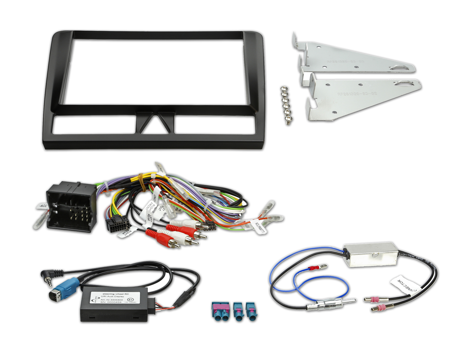 8 Inch Installation Kit For Audi A3  8p  8pa  2003