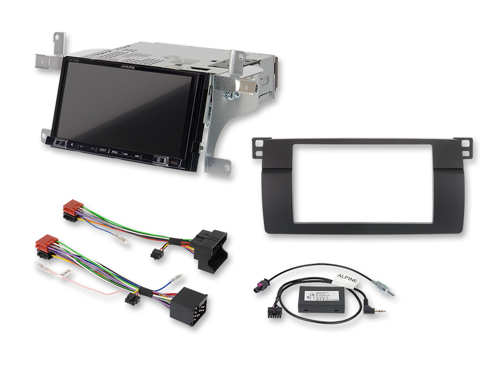 "7"" Mobile Media System for BMW 3-series E46 featuring Apple"