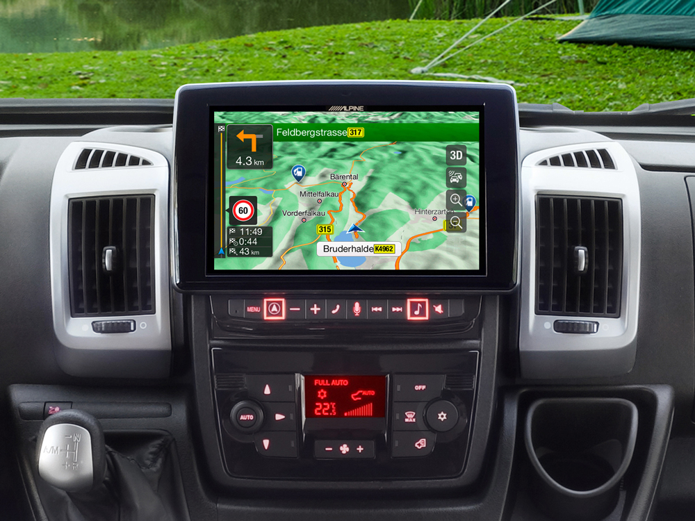 """9"""" Touch Screen Navigation for Fiat Ducato 3, Citroën Jumper 2 and ..."""
