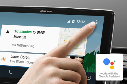 Alpine iLX-F903D - Works with the Google Assistant