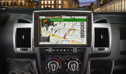 Ducato, Jumper and Boxer - Extra large 23cm (9-inch) touch screen - X901D-DU