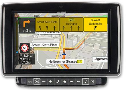 Ducato, Jumper and Boxer - Navigation - Lane Guidance / TMC Route Guidance - X901D-DU