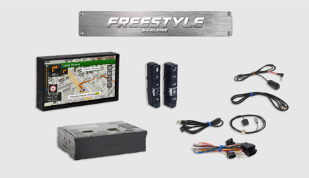All parts included - Freestyle Navigation System X702D-F