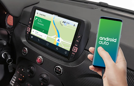 Online Navigation with Android Auto - X903D-F