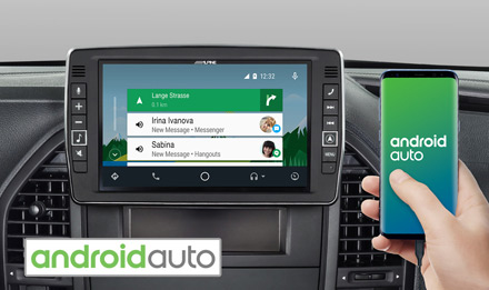 Mercedes Vito - Works with Android Auto - X902D-V447