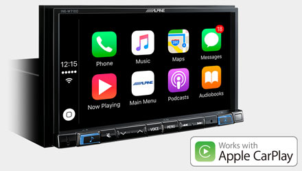 Mercedes ML/GL - Works with Apple CarPlay - INE-W720ML