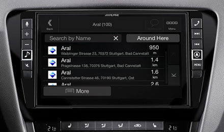 Skoda Octavia 3 - Navigation - Points of Interest  - X902D-OC3