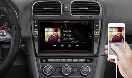 Golf 6 - Connect Your Smartphone - X902D-G6