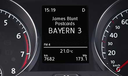 Golf 7 Driver Information Display X901D-G7