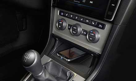 Golf 7 - Wireless Charging Console - KCE-G7QI