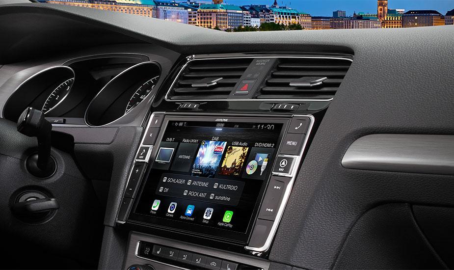 Alpine Style Navigation Designed for Volkswagen Golf 7 - X903D-G7