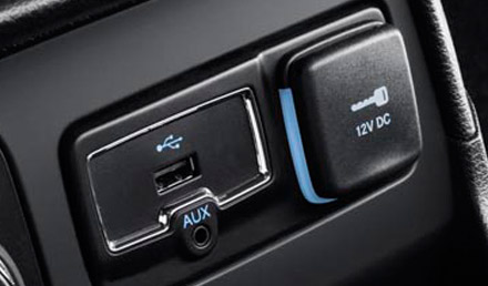 Jeep Renegade USB / AUX port